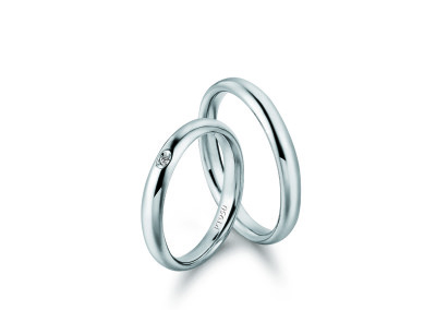 Wedding rings – Comfort